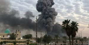 جنگندههای آمریکایی اطراف پایگاه حشد الشعبی را بمباران کردند