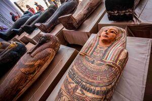 کشف آثار باستانی با قدمت 2500 سال در مصر