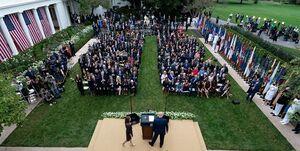 منشا خوشه ابتلا به کرونا در کاخ سفید چه بود؟ +عکس