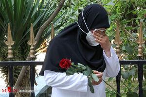 بدرقه دومین شهید مدافع سلامت استان فارس