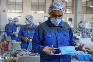 عکس/ رکوردشکنی در تولید ماسک