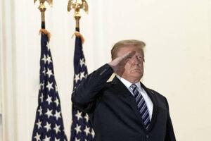 ترامپ ترخیص شد