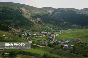 عکس/ روستاهای ییلاقی مسیر اسالم به خلخال