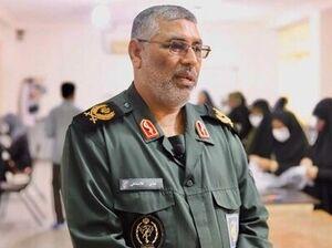 سردار عباس غلامشاهی فرمانده منطقه یکم نیروی دریایی سپاه پاسداران انقلاب