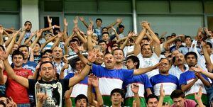 دیدار ایران-ازبکستان با حضور تماشاگران