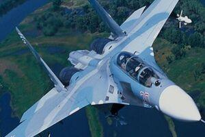 «سوخو-27 روسیه » 4 هواپیمای نظامی انگلیس را رهگیری کرد - کراپشده