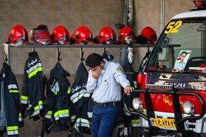 شهادت آتشنشان اصفهانی در راه نجات جان و مال همشهریان +عکس