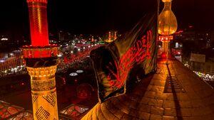 تصاویر زیبا از گنبد حرم حضرت اباالفضل(ع)