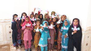 ساخت مدرسه در سیستان و بلوچستان به همت گروههای جهادی