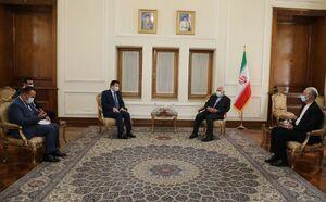 عکس/ خداحافظی سفیر سوریه با ظریف