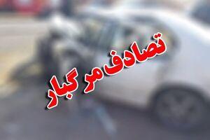 تصادف ۳ خودرو در محور شاهرود-مجن حادثه آفرید/۳ نفر جان باختند