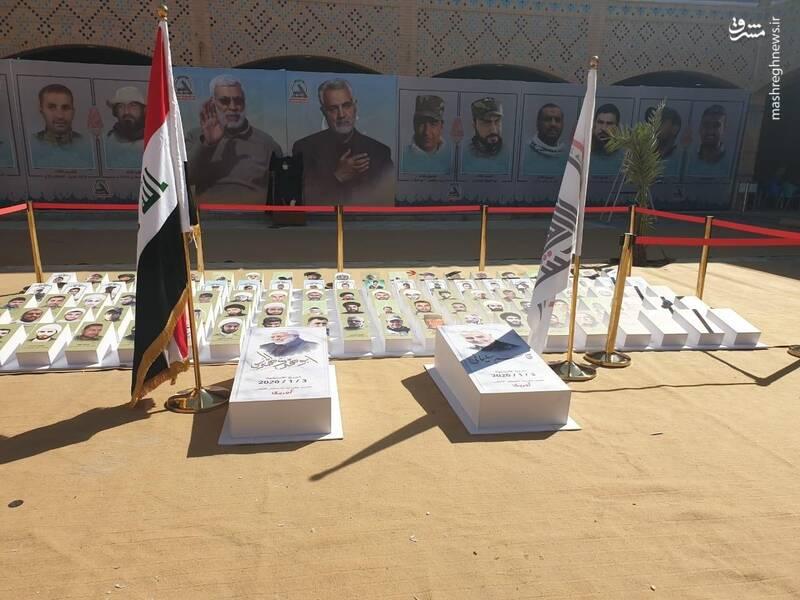 2940716 - عکس/ فرماندهان شهید حشدالشعبی در عمود ۲۸۵