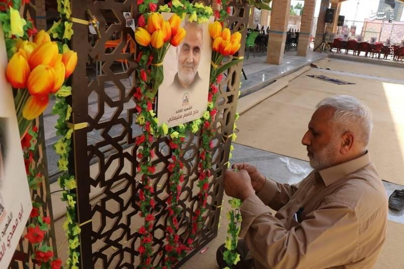 2940720 - عکس/ فرماندهان شهید حشدالشعبی در عمود ۲۸۵
