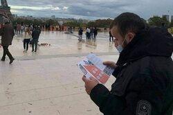 کمپین «اربعین چیست» در اروپا آغاز شد +عکس
