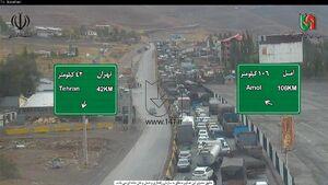 عکس/ ترافیک در جادههای شمال کشور