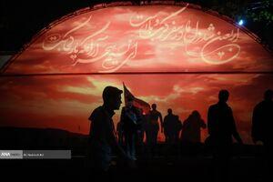 مراسم عزاداری شب اربعین در پادگان ۰۶ ارتش