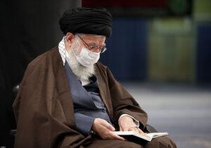 عکس/ عزاداری روز اربعین با حضور رهبر انقلاب