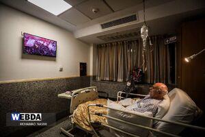 عکس/ بخش بیماران مبتلا به کرونا در روز اربعین