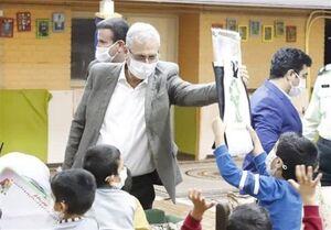 بازدید ربیعی از مرکز نگهداری کودکان در محله جوادیه