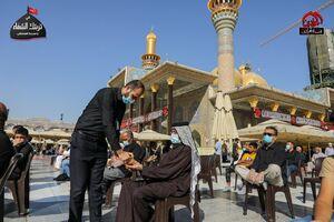 عکس/ مراسم عزاداری روز اربعین در کاظمین
