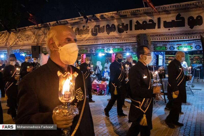 آیین لالهگردانی در بینالحرمین شیراز