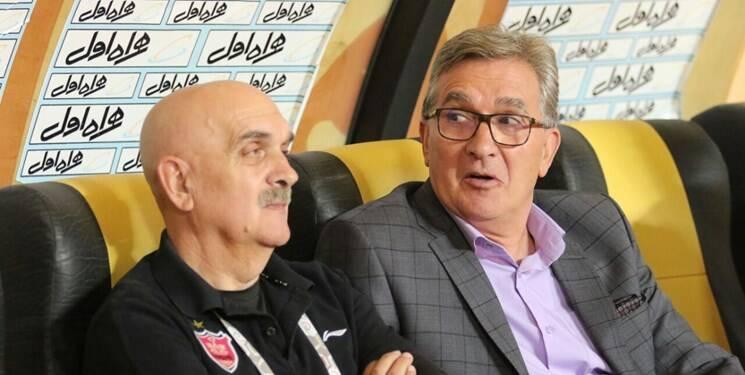 عربشاهی: در پرسپولیس نه بازیکن پول می گیرد نه طلبکار/خیانت بازی با هواداران و ندادن پول برانکو است