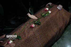عکس/ تشییع پیکر محمدرضا شجریان در بهشت زهرا(س)