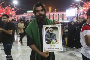 عکس/ یاد سردار دلها در بین الحرمین