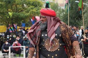 عکس/ تعزیه خوانی روز اربعین در اردبیل