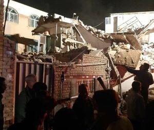 تخریب سه واحد مسکونی بر اثر انفجار در ساوه