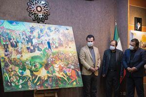 فروش نقاشی به مبلغ یک میلیارد تومان برای ساخت مدرسه