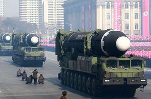 جدیدترین موشک بالستیک قارهپیما کرهشمالی