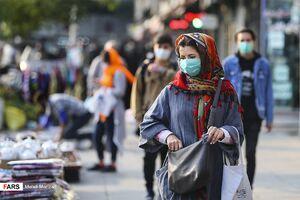 تهران قرمز کرونایی