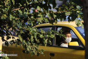 رانندگان تاکسی مسافر بدون ماسک سوار نکنند