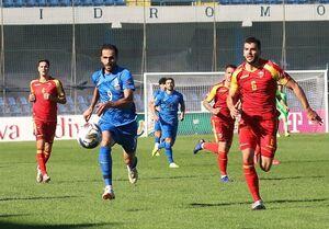 عکس/ مهاجم ایرانی در لباس تیم ملی آذربایجان