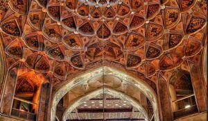 عکس/ معماری بینظیر ایرانی در اصفهان