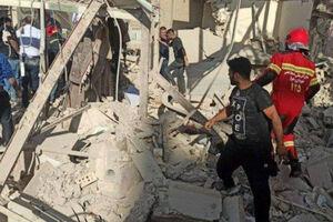 عکس/ انفجار مرگبار گاز در بازارچه عامری اهواز