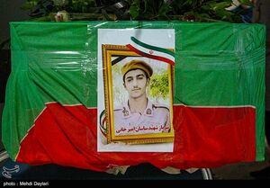 تشییع پیکر شهید مدافع وطن در اهر