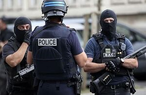 نیروهای امنیتی فرانسه پلیس فرانسه