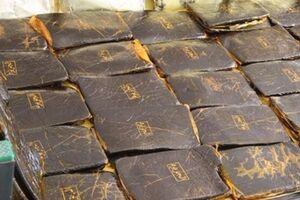 ناکامی قاچاقچیان در انتقال 30 کیلو شیشه در جاسک - کراپشده