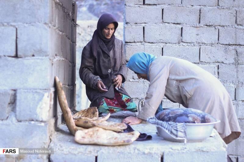 تنها تنور موجود در روستا که اهالی روستا با طلوع آفتاب برای پخت نان از آن استفاده میکردند.