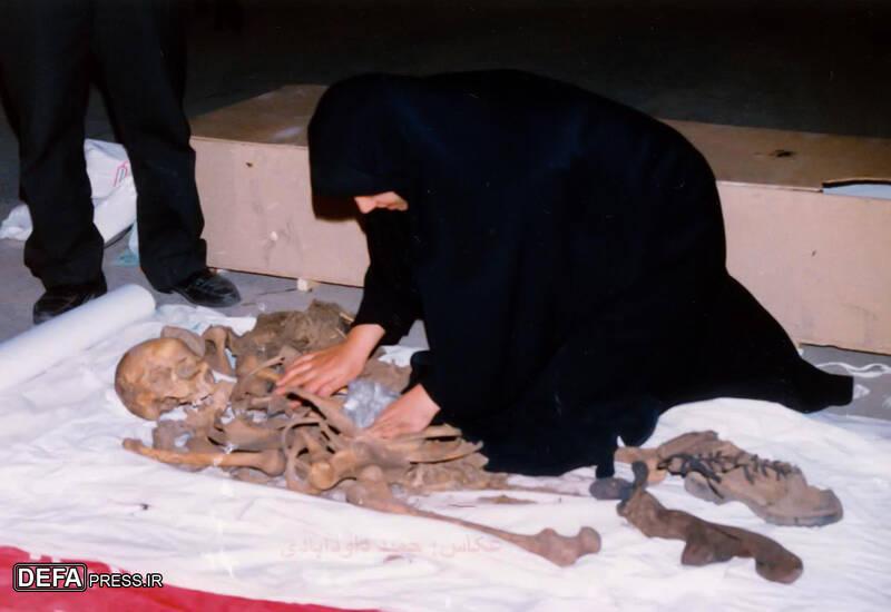 ماجرای عشقبازی یک همسر شهید با پیکر شوهرش در معراجالشهداء + تصاویر