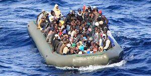 واژگونی قایق پناهجویان در مدیترانه/ ۸ زن و سه کودک کشته شدند