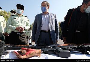 جمعی از نمایندگان مجلس شورای اسلامی در حال بازدید از طرح ظفر پلیس پایتخت