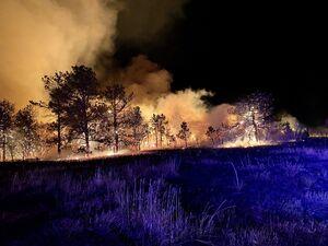 آتشسوزی در پایگاه نظامی در «کلرادو» آمریکا