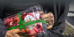 مسجدیها ۵۰ هزار بسته گوشت به نیازمندان میدهند