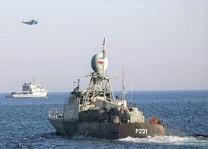 ناوگروه ۷۰ نداجا به ماموریت اعزام شد