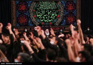 عزاداری دهه آخر صفر در حسینیه آیت الله هاشمی شاهرودی