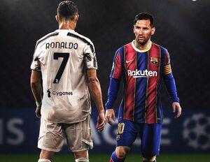 یک حساب سرانگشتی؛ احتمال رسیدن «رونالدو» به «مسی» و بارسلونا کم شد