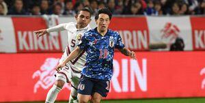 دیدارهای دوستانه ملی فوتبال|پیروزی ژاپن مقابل ساحل عاج دقیقه 1+90